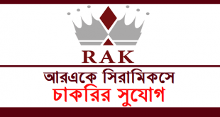 RAK Ceramics job circular